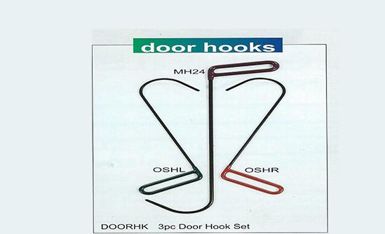 Dentcraft tools door hooks