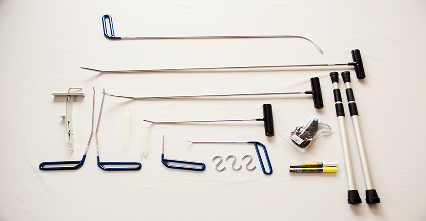 tec tools for paintless dent repair